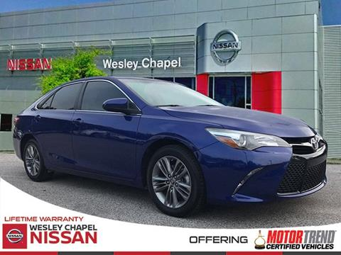 2015 Toyota Camry for sale in Wesley Chapel, FL