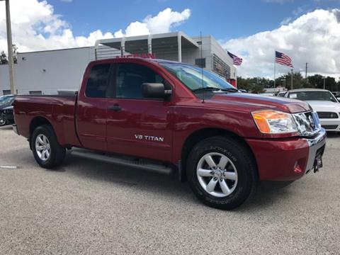 2014 Nissan Titan for sale in Wesley Chapel, FL