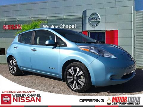 2015 Nissan LEAF for sale in Wesley Chapel, FL