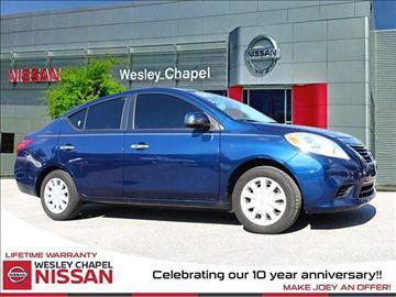 2012 Nissan Versa for sale in Wesley Chapel, FL