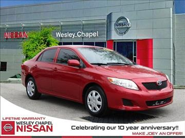 2009 Toyota Corolla for sale in Wesley Chapel, FL