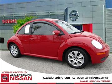 2008 Volkswagen New Beetle for sale in Wesley Chapel, FL