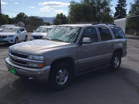 2001 Chevrolet Tahoe for sale in Ephraim, UT