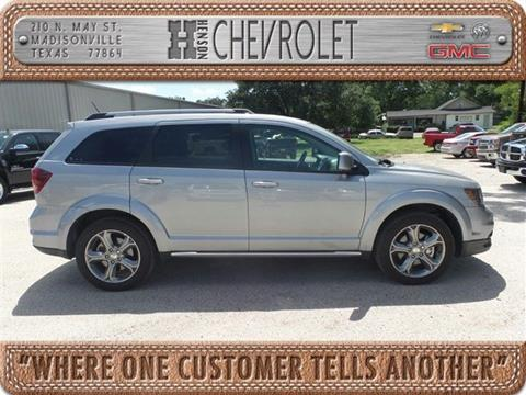 2017 Dodge Journey for sale in Madisonville, TX