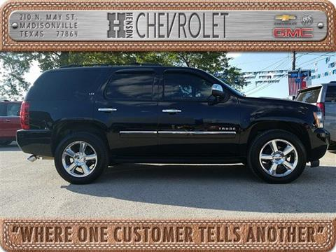 2013 Chevrolet Tahoe for sale in Madisonville TX