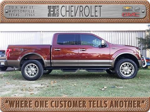 2015 Ford F-150 for sale in Madisonville TX