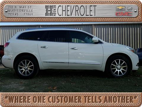 2015 Buick Enclave for sale in Madisonville, TX