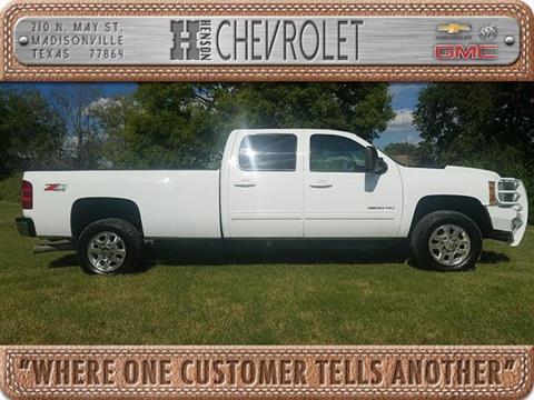 2014 Chevrolet Silverado 3500HD for sale in Madisonville TX
