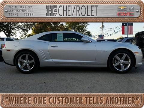 2015 Chevrolet Camaro for sale in Madisonville, TX