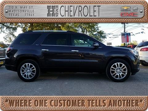 2015 GMC Acadia for sale in Madisonville, TX