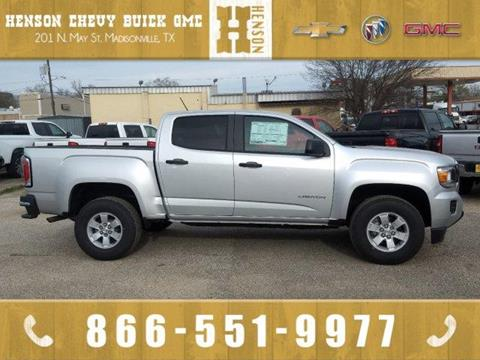 2019 GMC Canyon for sale in Madisonville, TX