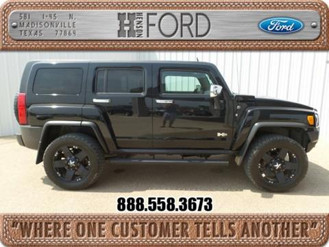 2009 HUMMER H3 for sale in Madisonville, TX