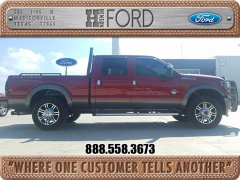 2014 Ford F-250 Super Duty for sale in Madisonville TX