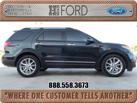 2014 Ford Explorer for sale in Madisonville TX