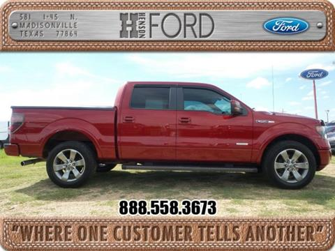 2013 Ford F-150 for sale in Madisonville TX
