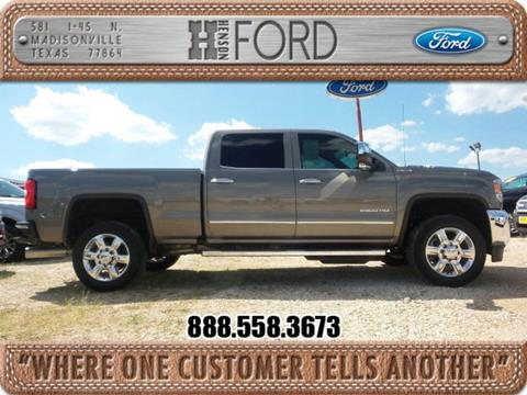 2017 GMC Sierra 2500HD for sale in Madisonville TX