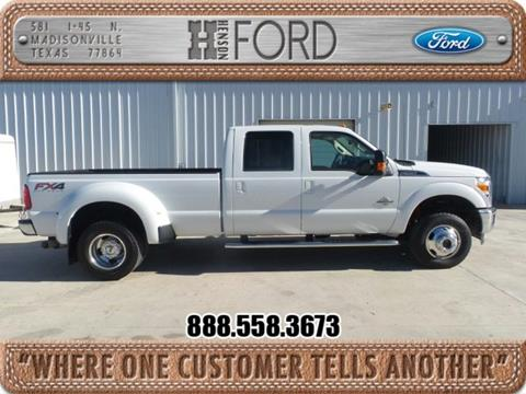 2015 Ford F-350 Super Duty for sale in Madisonville TX
