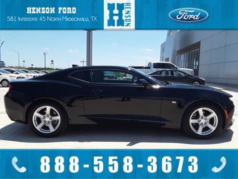 Henson Ford Madisonville Tx >> 2018 Chevrolet Camaro For Sale In Madisonville Tx