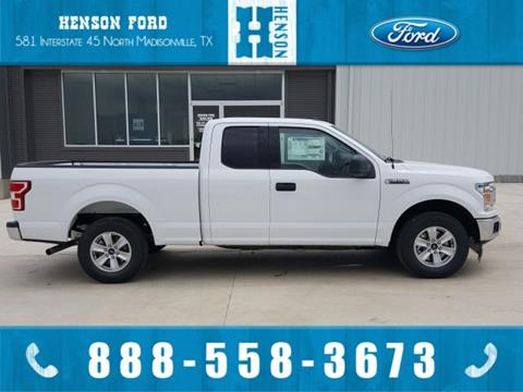 2018 Ford F-150 for sale in Madisonville, TX