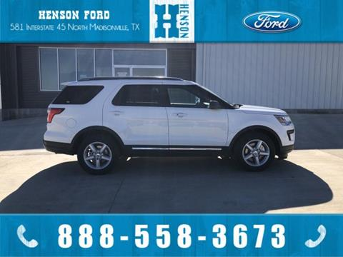 2019 Ford Explorer for sale in Madisonville, TX