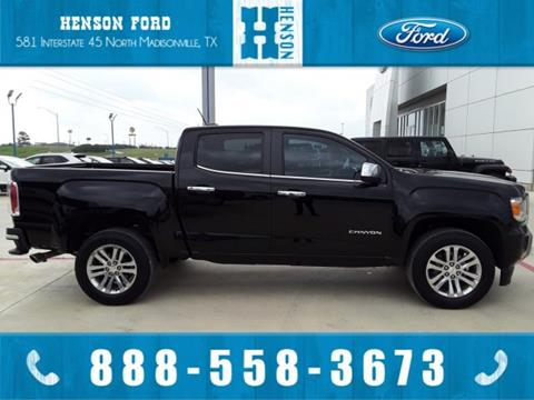 2016 GMC Canyon for sale in Madisonville, TX
