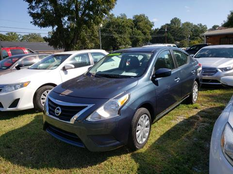 2017 Nissan Versa for sale at Curtis Lewis Motor Co in Rockmart GA