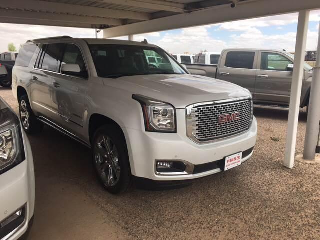 2017 GMC Yukon XL 4x4 Denali 4dr SUV - Stanton TX