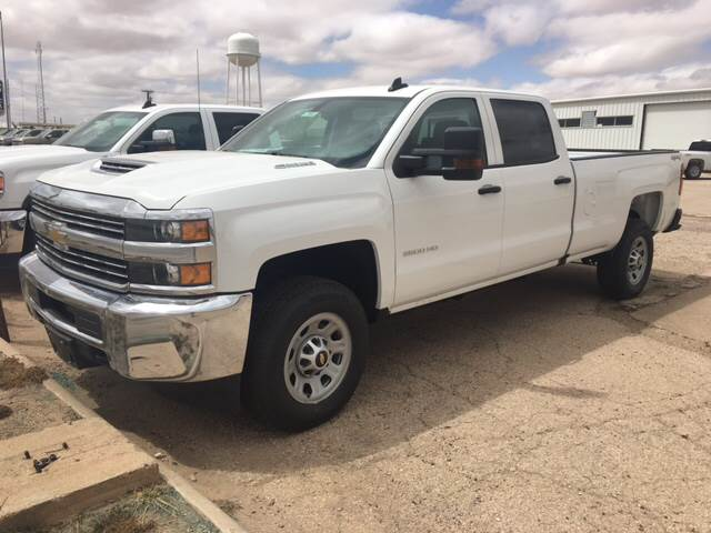2017 Chevrolet Silverado 3500HD LEATHER - Stanton TX