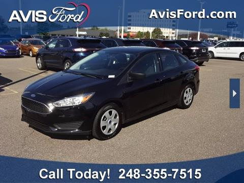 2017 Ford Focus for sale in Southfield, MI