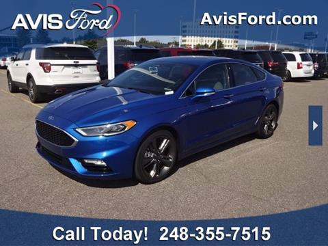 2017 Ford Fusion for sale in Southfield, MI
