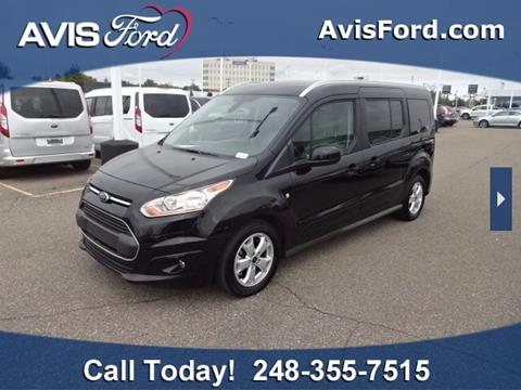 2017 Ford Transit Connect Wagon for sale in Southfield, MI
