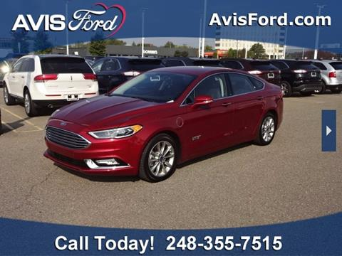 2017 Ford Fusion Energi for sale in Southfield, MI