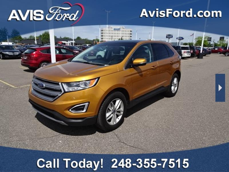Ford Edge For Sale At Work With Me Dave In Southfield Mi