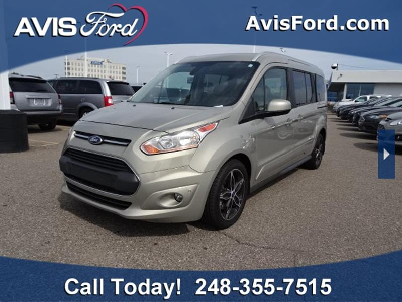 3e64c1051f 2016 Ford Transit Connect Wagon for sale at Work With Me Dave in Southfield  MI