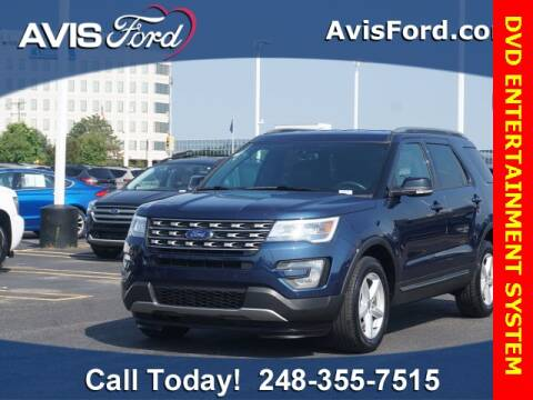 2017 Ford Explorer for sale at Work With Me Dave in Southfield MI