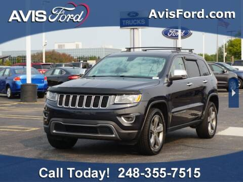 2014 Jeep Grand Cherokee for sale at Work With Me Dave in Southfield MI