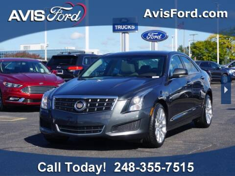 2014 Cadillac ATS for sale at Work With Me Dave in Southfield MI