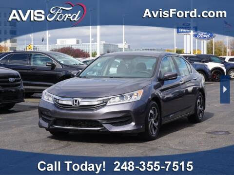 2017 Honda Accord for sale at Work With Me Dave in Southfield MI