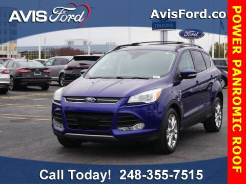 2013 Ford Escape for sale at Work With Me Dave in Southfield MI