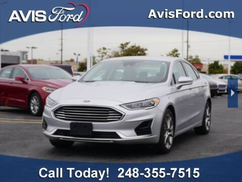 2019 Ford Fusion for sale at Work With Me Dave in Southfield MI