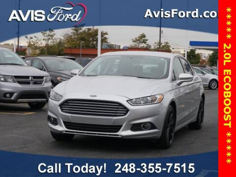 2016 Ford Fusion for sale at Work With Me Dave in Southfield MI