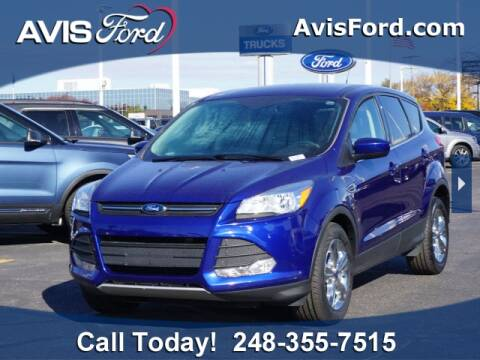 2015 Ford Escape for sale at Work With Me Dave in Southfield MI
