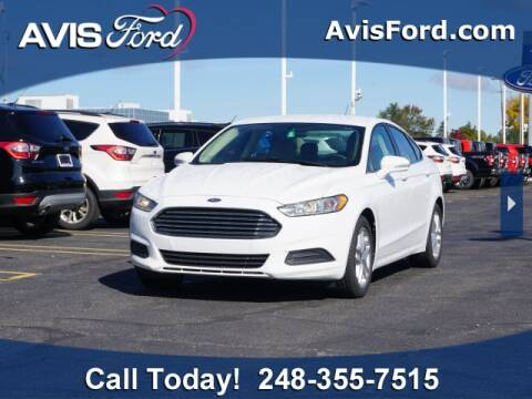 2014 Ford Fusion for sale at Work With Me Dave in Southfield MI