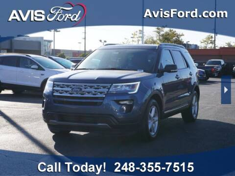 2019 Ford Explorer for sale at Work With Me Dave in Southfield MI