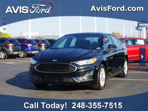 2019 Ford Fusion Energi for sale at Work With Me Dave in Southfield MI