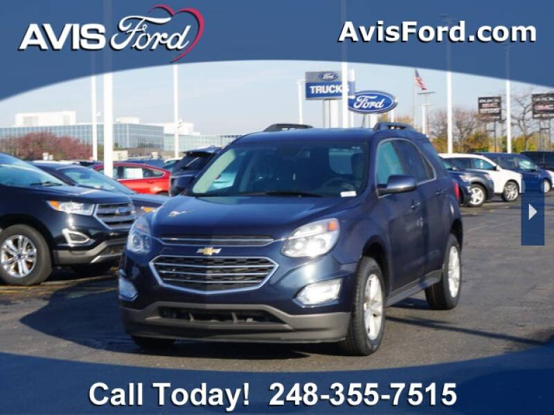2017 Chevrolet Equinox for sale at Work With Me Dave in Southfield MI