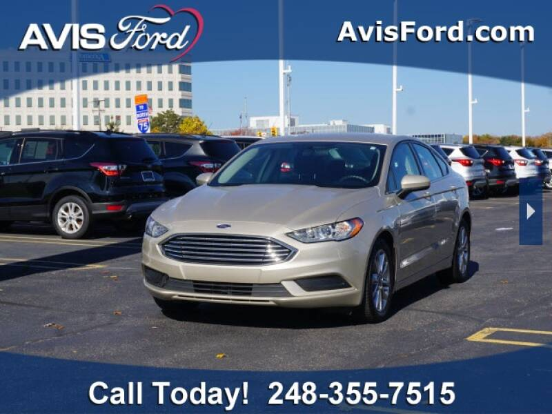 2017 Ford Fusion for sale at Work With Me Dave in Southfield MI