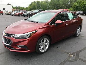 2016 Chevrolet Cruze for sale in Clare, MI