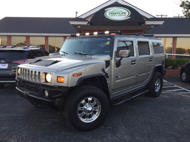 2004 HUMMER H2 Adventure Series 4WD 4dr SUV - Lubbock TX