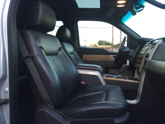 2011 Ford F-150 4x2 Lariat 4dr SuperCrew Styleside 5.5 ft. SB - Lubbock TX